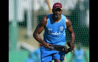 FILE West Indies President's XI head coach Floyd Reifer during net practice at the Three Ws Oval on January 13, 2019 in Bridgetown, Barbados.