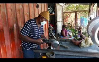 Roderick Frazer sent is children to school by being a tinsmith. He said that his last child is currently attending the University of Technology, Jamaica.