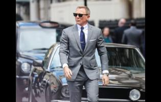 British agent, James Bond (Daniel Craig) in a scene from the movie, 'No Time to Die'.
