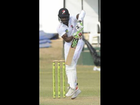 Trinidad and Tobago Red Force batsman Jason Mohammed.