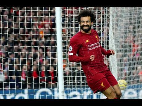 Liverpool's Mohamed Salah.