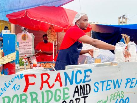 Francisco Heron, the porridge man.